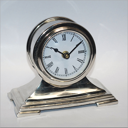 Aluminum Table Clock