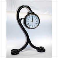 Antique Flower Shape Table Clock
