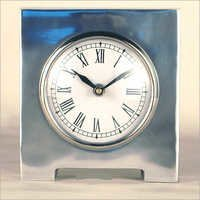 Aluminum Antique Table Clock