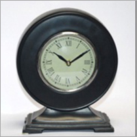Antique Black Table Clock