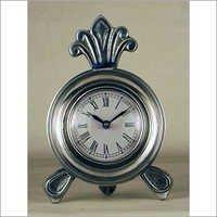 Aluminum Antique Table Clock