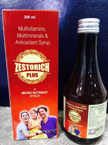 Micronutrient + Multivitamin + Multimineral Syrup