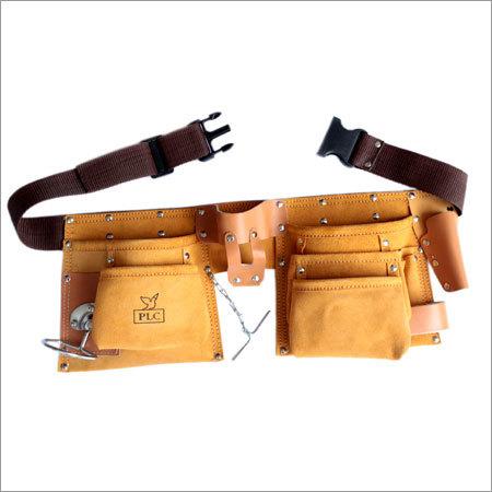 10 Pocket Large Capacity Split Leather Carpenter Apron