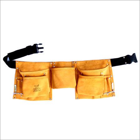 10 Pocket Large Capacity Leather Carpenter Apron
