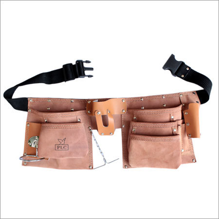 10 Pocket Large Capacity Split Leather Carpenter Apron