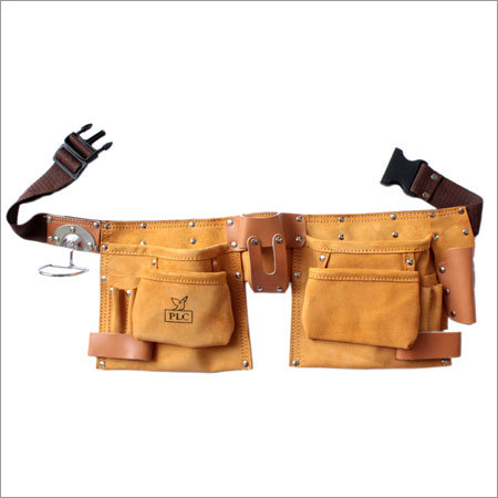 11 Pocket Professional Leather Carpenter Apron