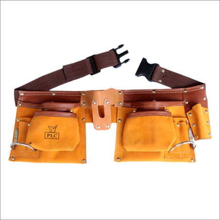 Leather Tool Belt With Pockets