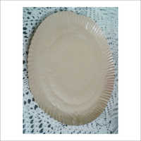 Brown Tiger Silicon Paper Plate