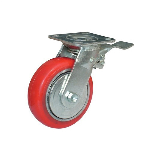 Rubber Caster Wheel