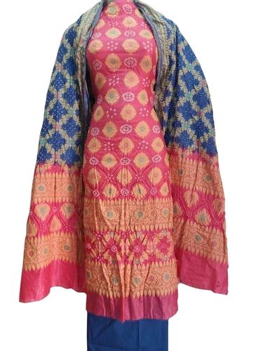 Color Bandhani Suit