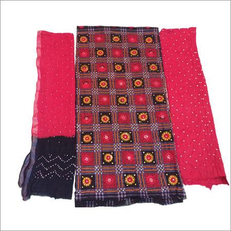 Bandhani Suit Dress Materials