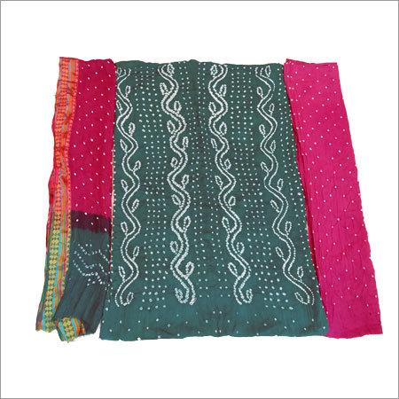 Bandhani Designer Print Dress Materials