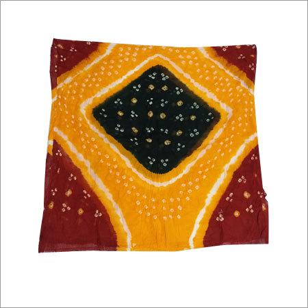 Bandhani Multicolor Cotton Dupatta