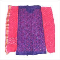 Bandhani Designer Unstitched Saree