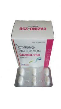 Azithromycin 250 mg Tablet