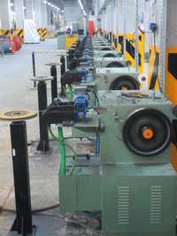 MIG/CO2 Multi Line Copper Wire Coating Line