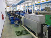 High Speed Single Line Copper Coating System