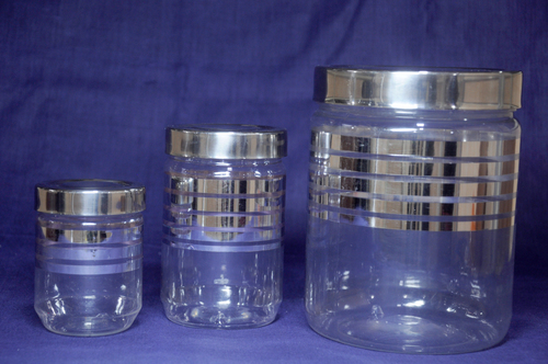 Multi Storage Plastic Jars
