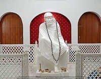 Marble Sai Baba Moorti