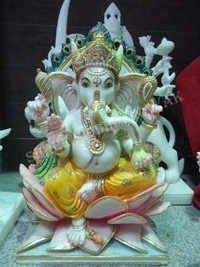 Marble Ganesha Moorti