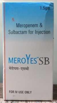 Meropenem & sulbactam for injection