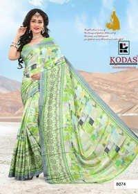 Festive wear Crepe Printed Saree