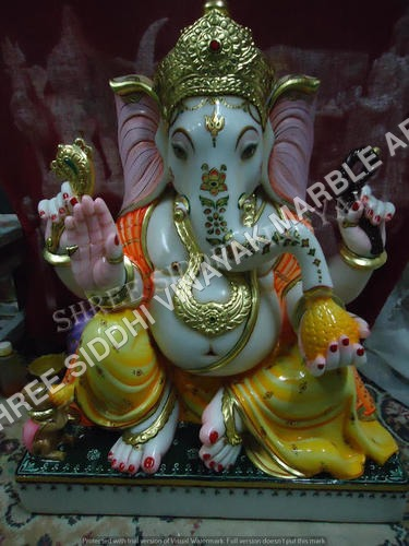 Marble Ganesha Idols