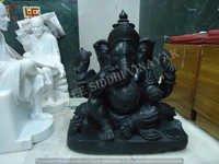 Black Ganesha Statue
