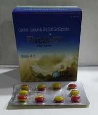 Calcitriol + Calcium + Zinc  SOFT GEL CAPSULES