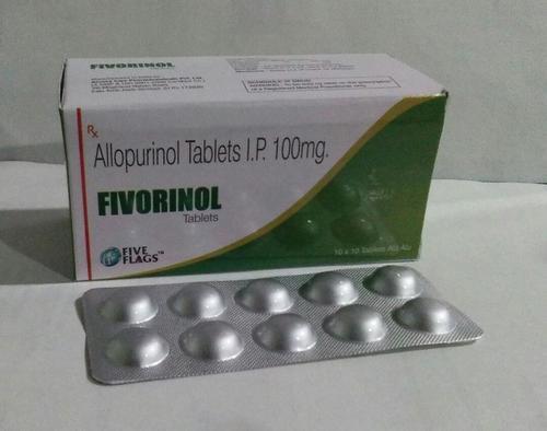 Allopurinol  100 mg. Tablets