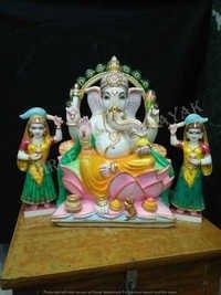 Ganesh Marble Sculpture
