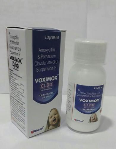 Amoxycillin 200 mg. + Clavulanic Acid 28.5 mg./5 ml. DRY SYRUP