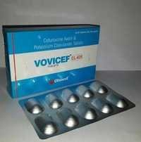 CEFUROXIME AXETIL & POTASSIUM CLAVULANATE TABLETS