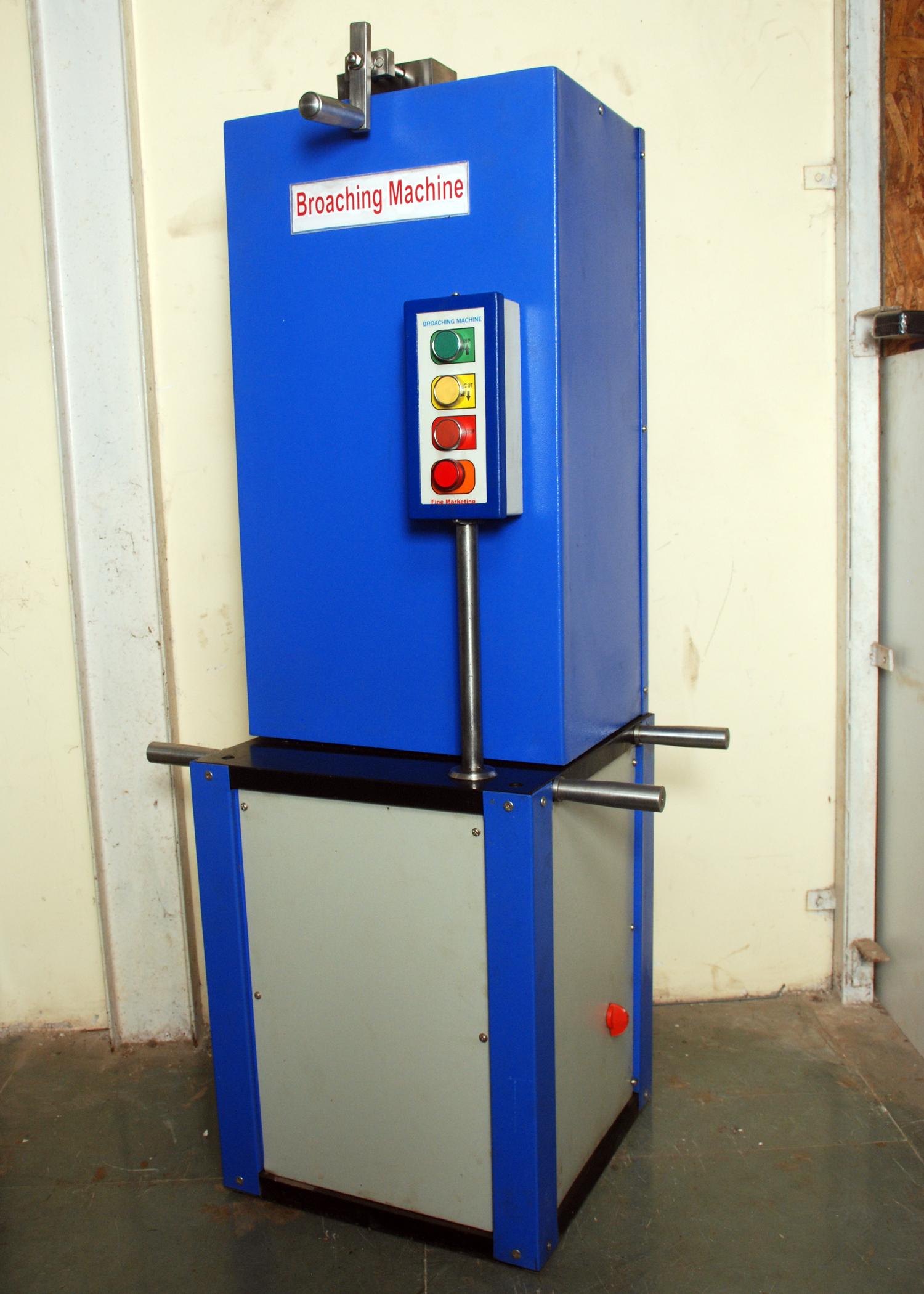 Notch Impact Broaching Machines