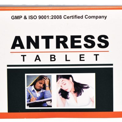 Ayurvedic Tablet For Stress Disorders - Antress Tablet