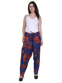 ladies printed patiala