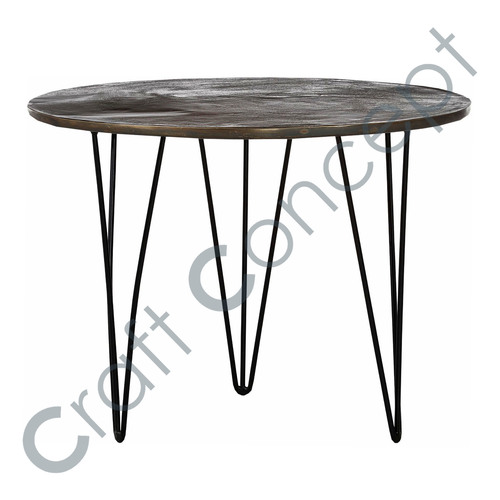 LONG LEGS METAL COFFEE TABLE