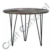 LONG LEGS METAL COFFEE TABLE
