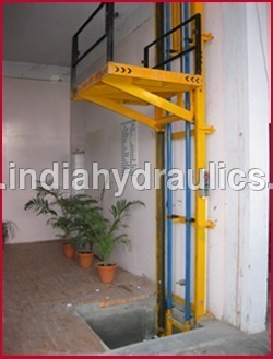 Single mast hydraulics Stacker Lift