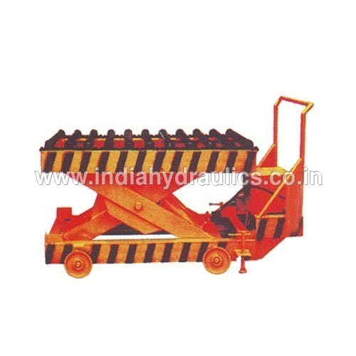 Roller Top Scissor Lift