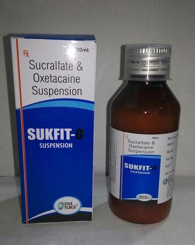 Sucralfate 1000mg.+Oxetacaine 20mg. SYRUP