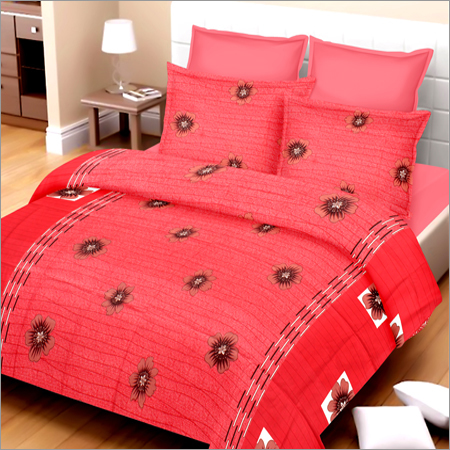 Poly Cotton Double Bed Sheet