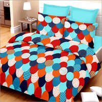 Multicolor Cotton Double Bed Sheet