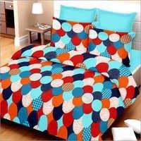 Multicolor Cotton Double Bed Sheet