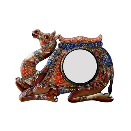 Camel Shape Multi-Color Mirror Frame