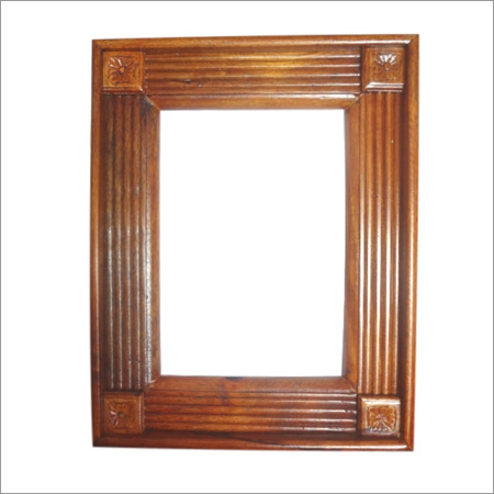 Shiny Wooden Photo Frame