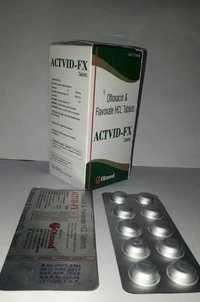 OFLOXACIN 200MG+FLAVOXATE 200MG  TABLETS