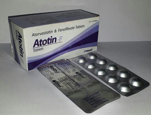 Atorvastatin 10 mg + Finofibrate 145mg Tablets
