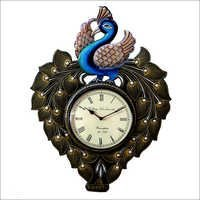 Peacock Analog Wall Clock
