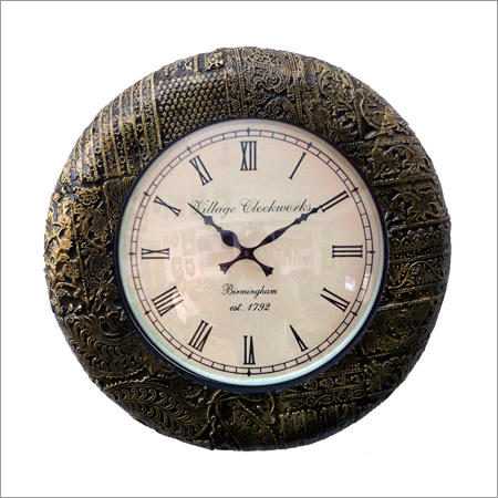 Decorative Round Clock